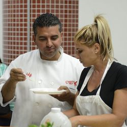 Buddy Valastro with his wife Lisa