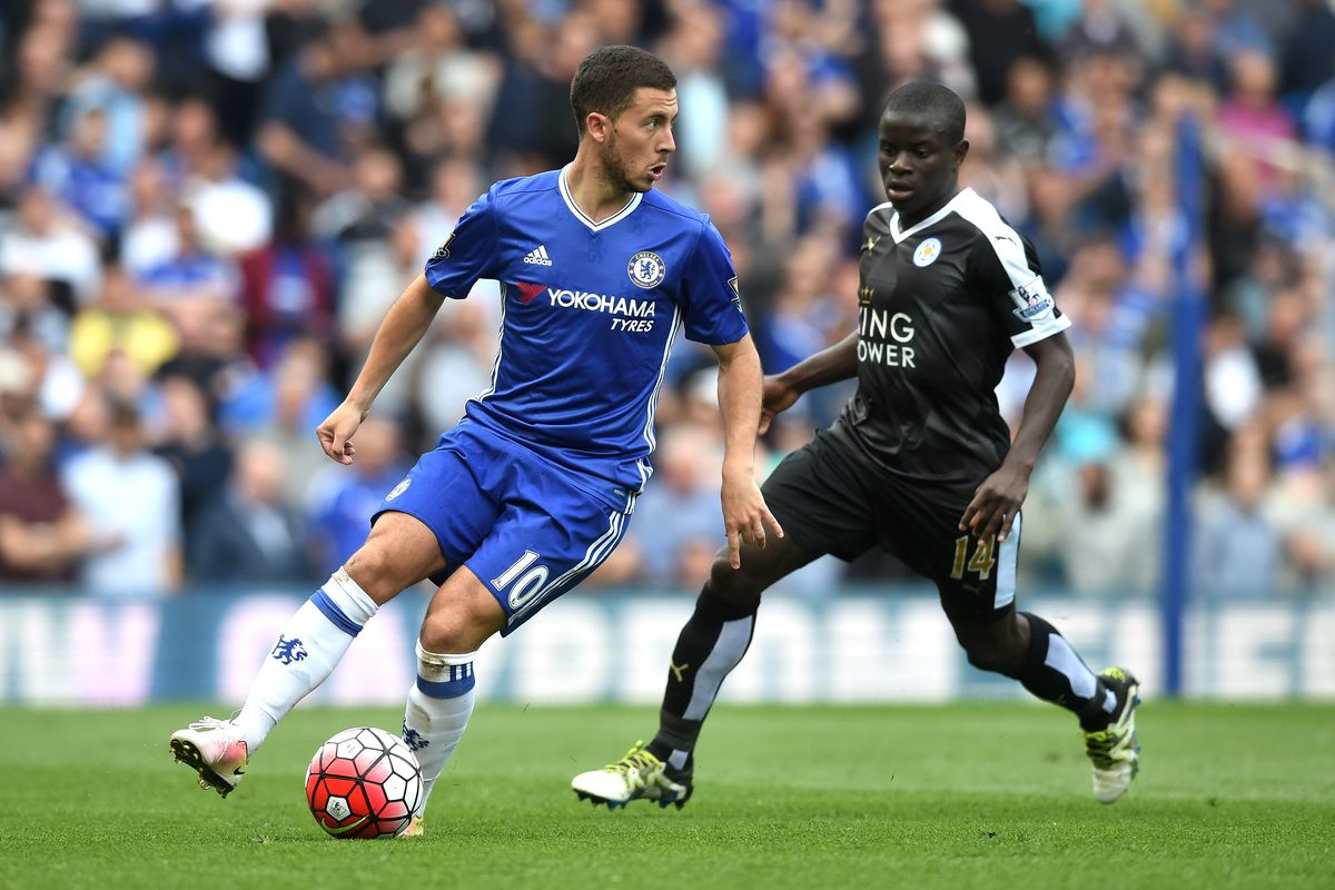Eden Hazard Lauds N'Golo Kanté As The Best Midfielder In