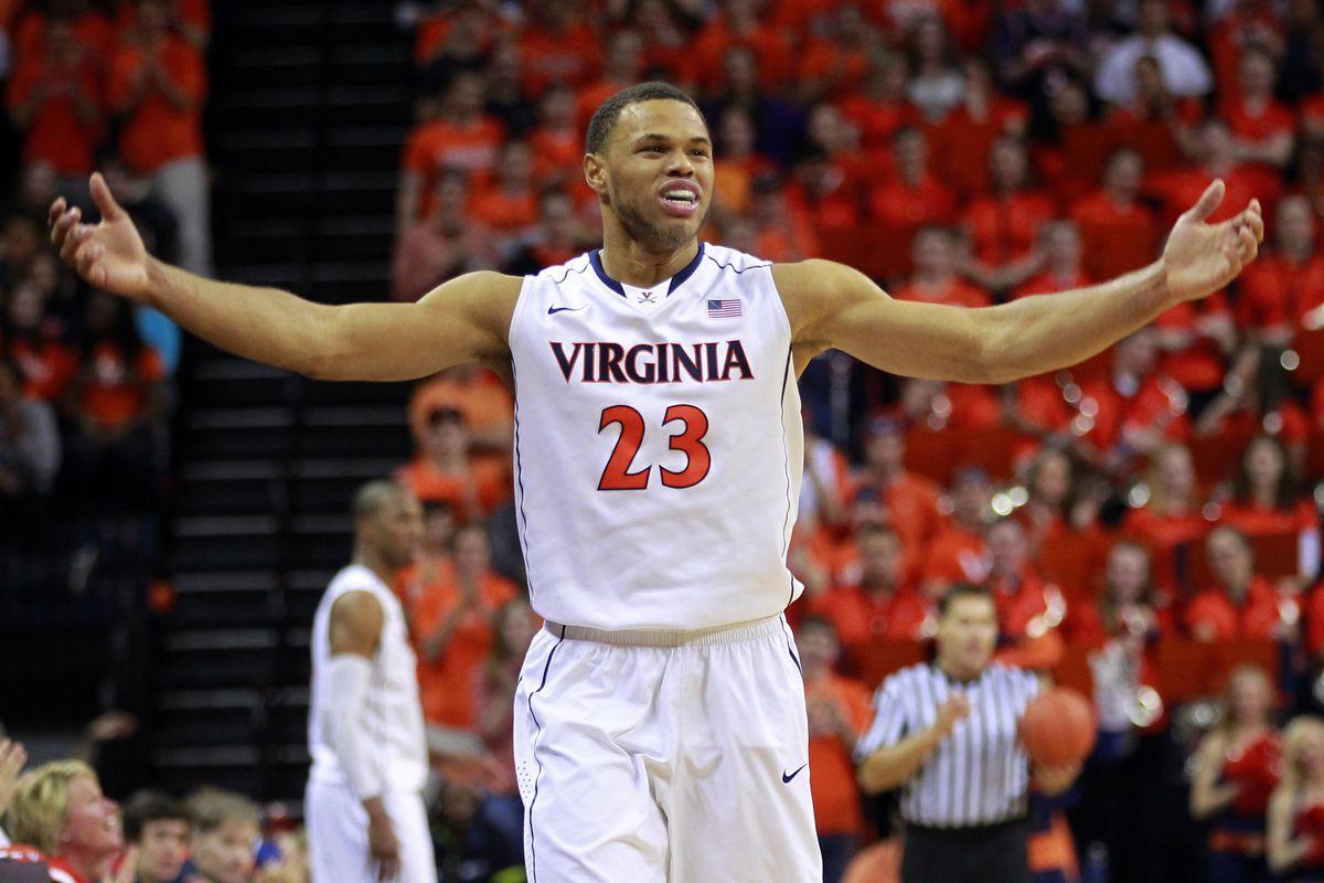 Justin Anderson likes playing basketball at JPJ