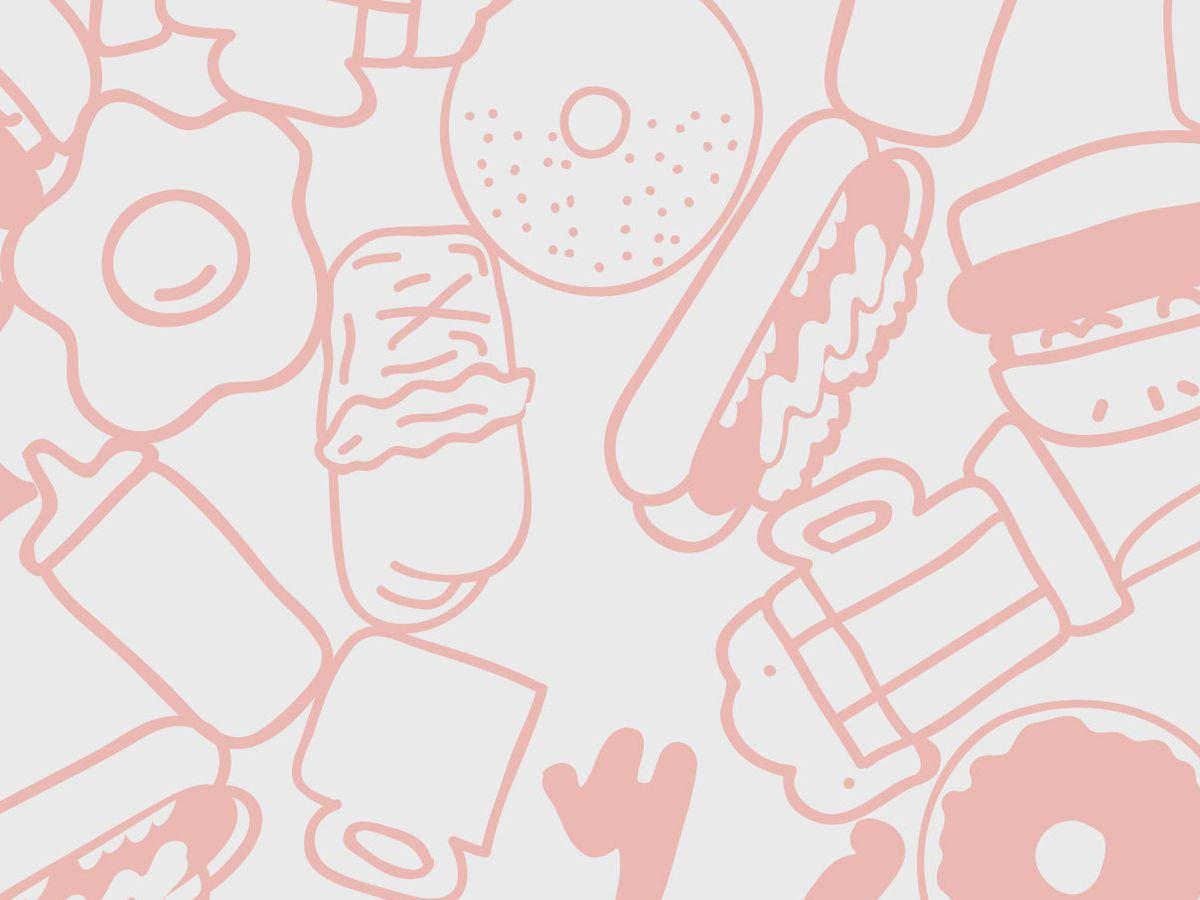 A pierogi filled with jam.