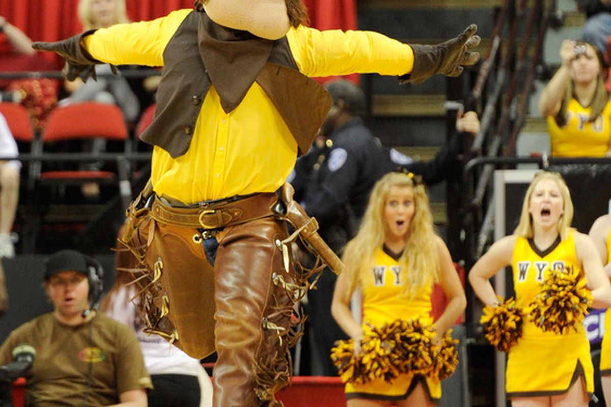 """<strong>Wyoming's Pistol Pete</strong><em></em> Is """"Phantom Pete"""" a slippery slope? We don't ever want things to get <strong>THIS</strong> out of hand. (Photo by Ethan Miller/Getty Images)"""