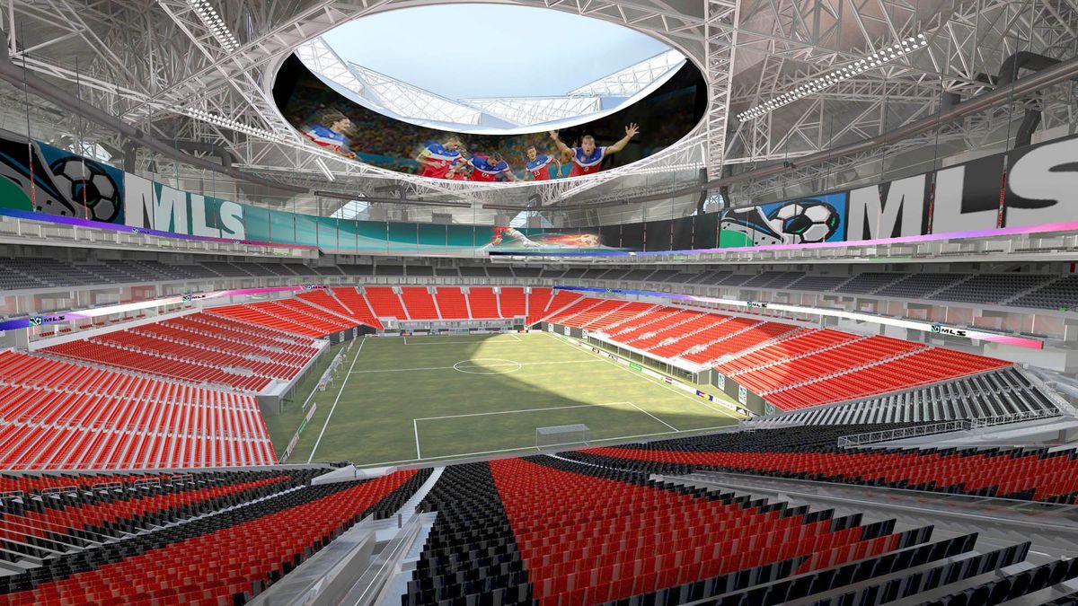 falcons stadium soccer