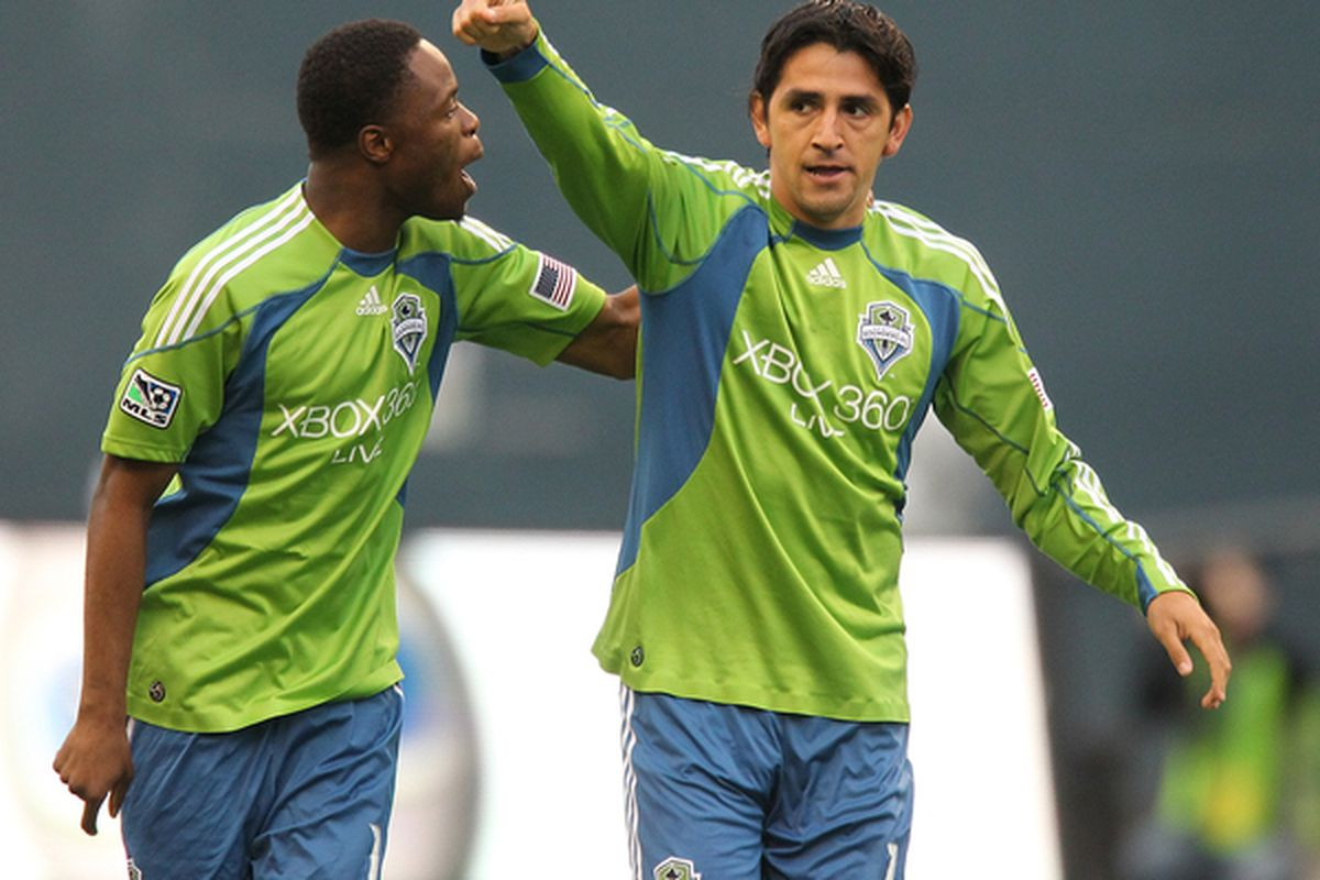 Leo Gonzalez is returning to the starting lineup and notes that the Sounders as a whole of plenty of international club experience now.