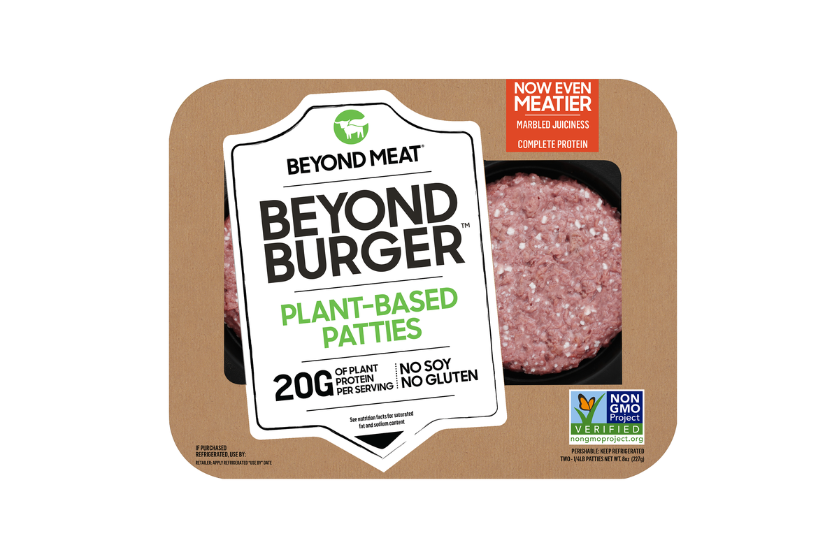 Beyond Meat upgrades its burger with better marbling and
