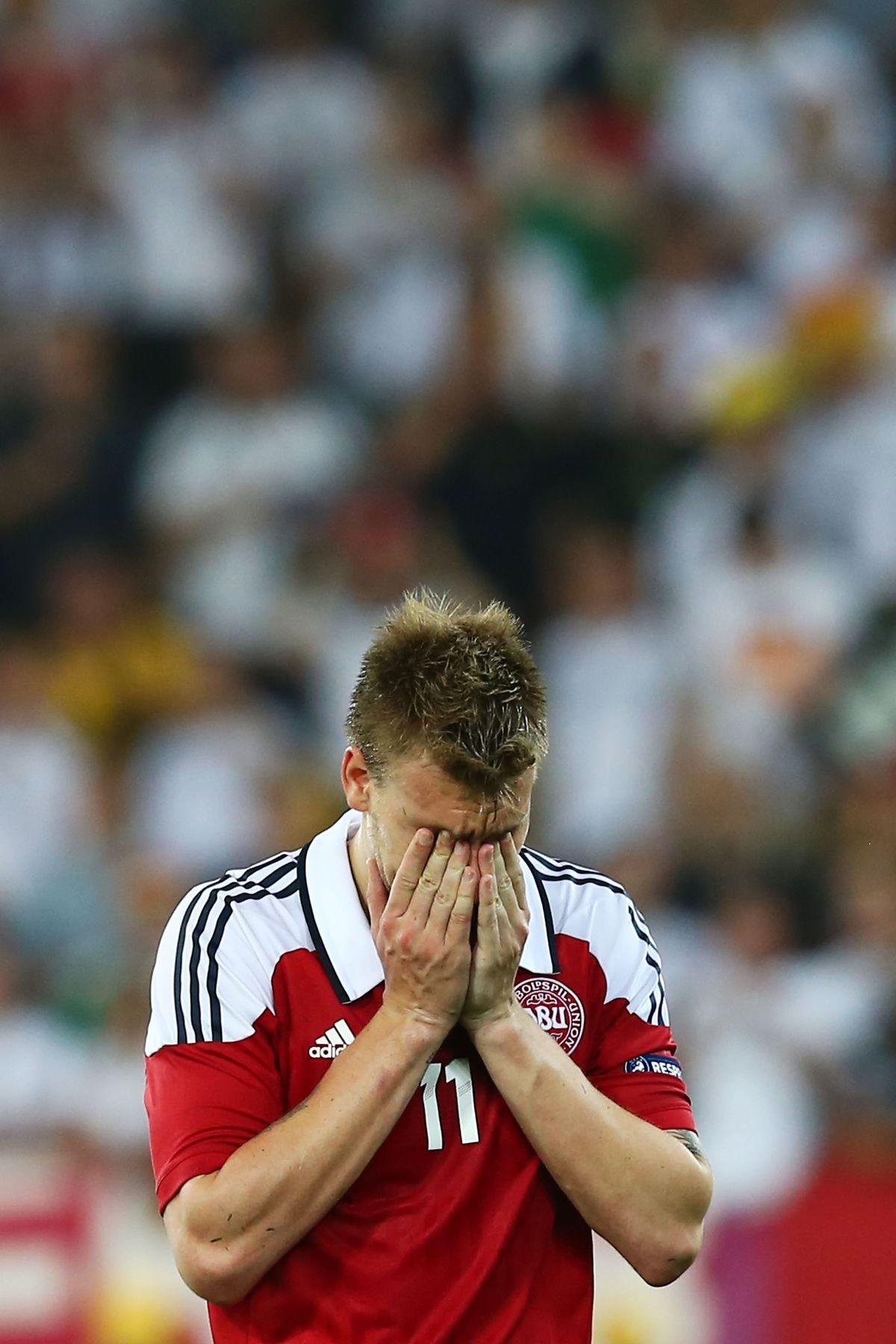 Denmark v Germany - Group B: UEFA EURO 2012
