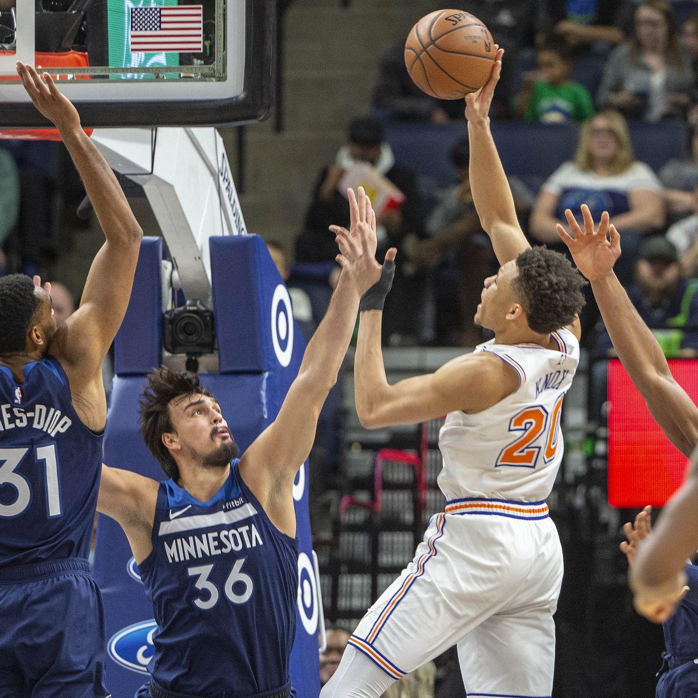 Timberwolves 103 Knicks 92 Poop Emoji Posting And Toasting