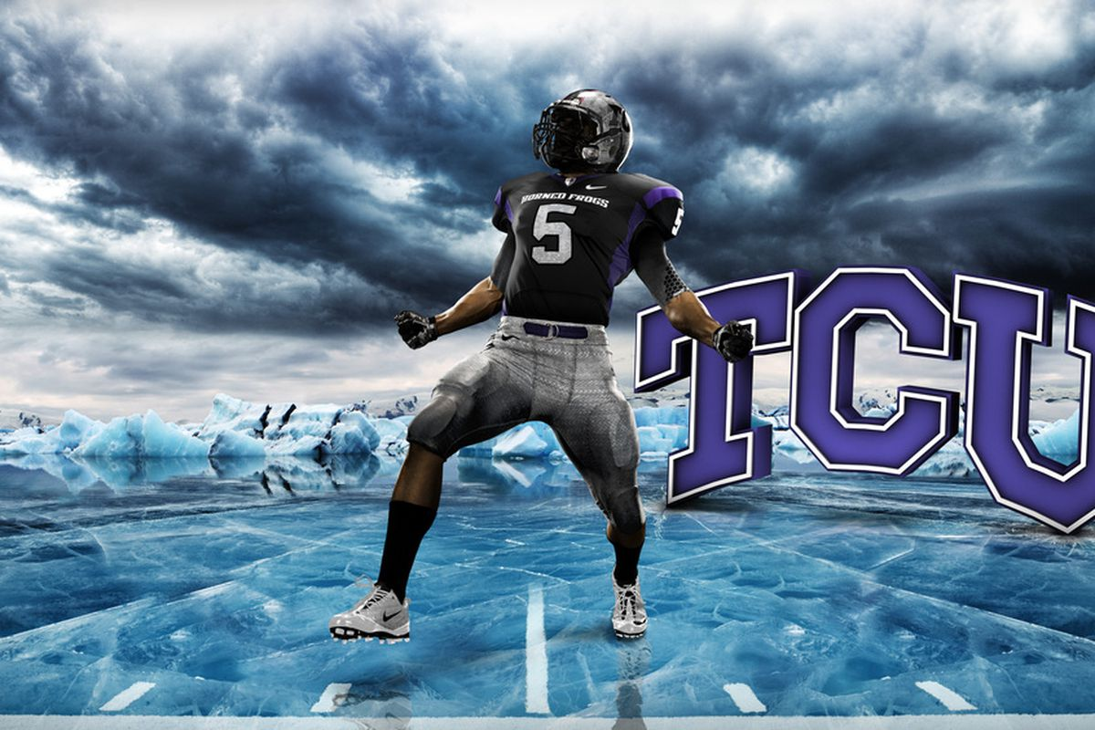 New 2010 TCU Nike Pro Combat Uni s - Mountain West Connection fb15794ee