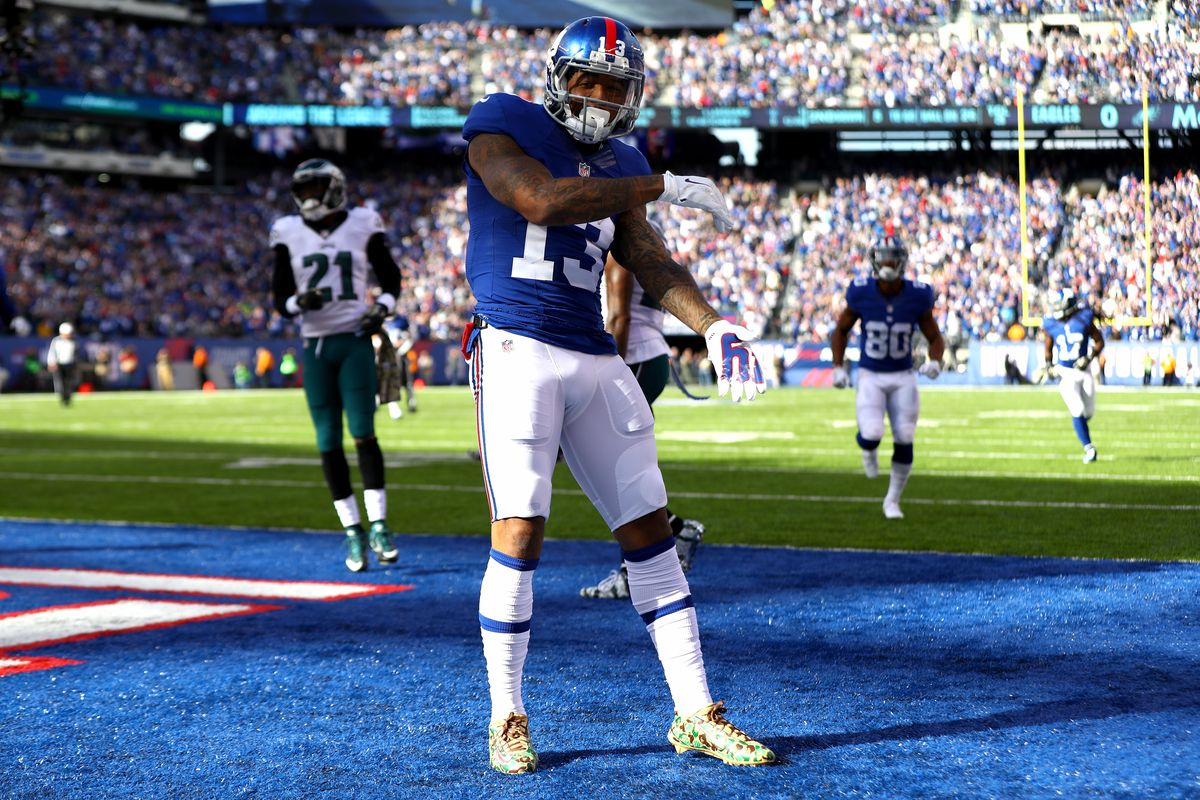 Odell Beckham Jr is scoring touchdowns faster than any NFL player