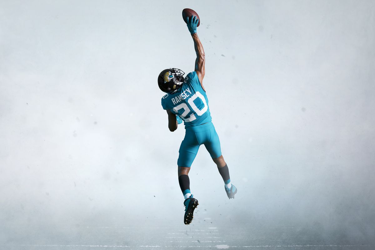 save off f6193 e21c6 Why the new Jaguars uniforms are actually good and not bad ...
