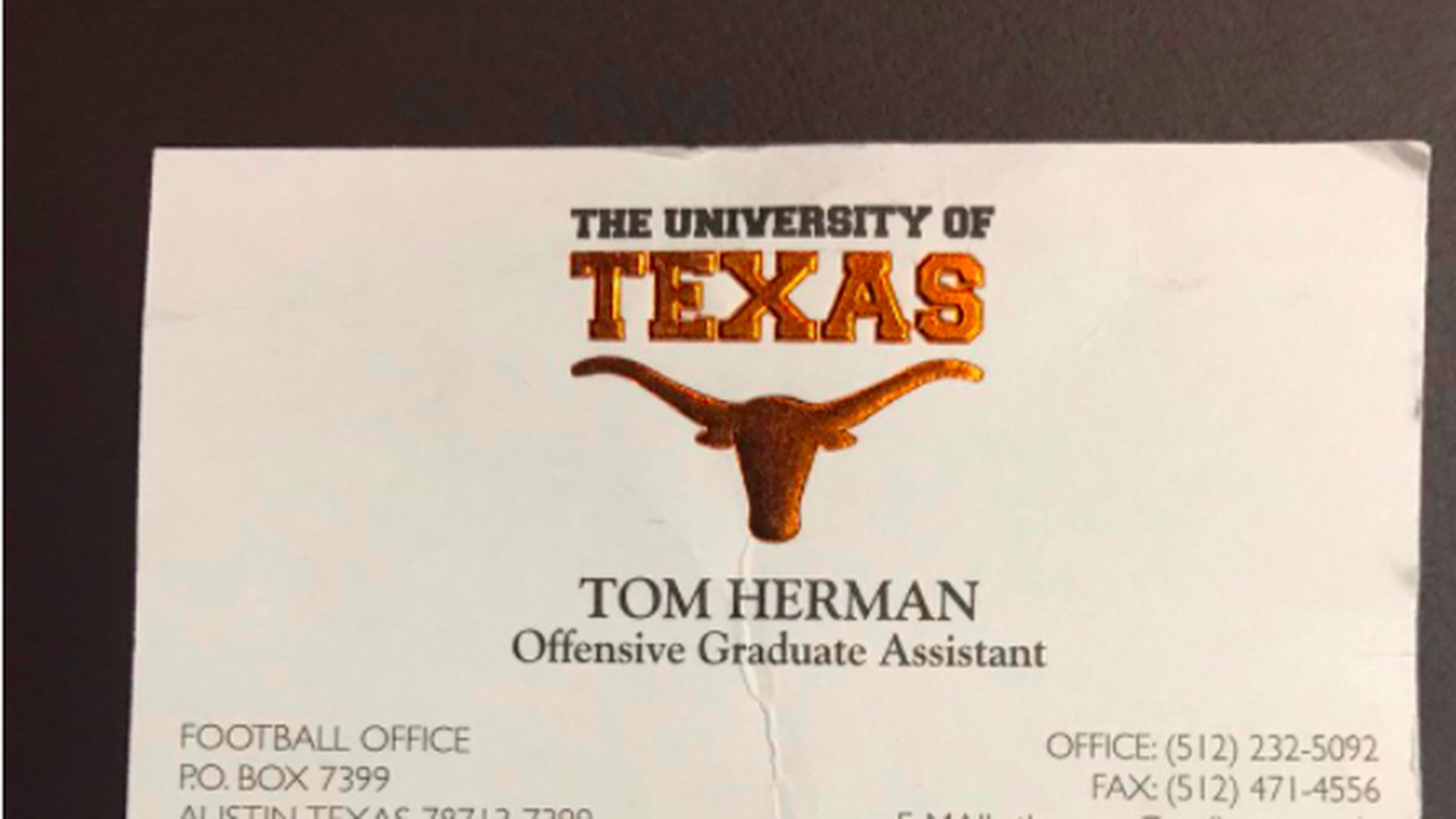 Tom Herman shows hard work pays off with his two Texas business ...