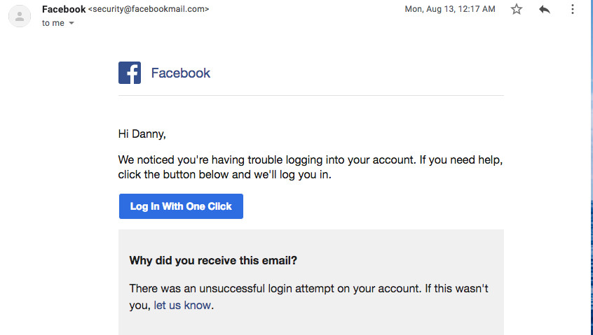 Facebook's One Click Login Tool Goes Against Best Security