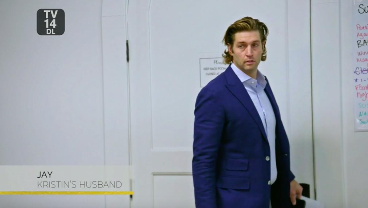 Jay Cutler wearing a blazer