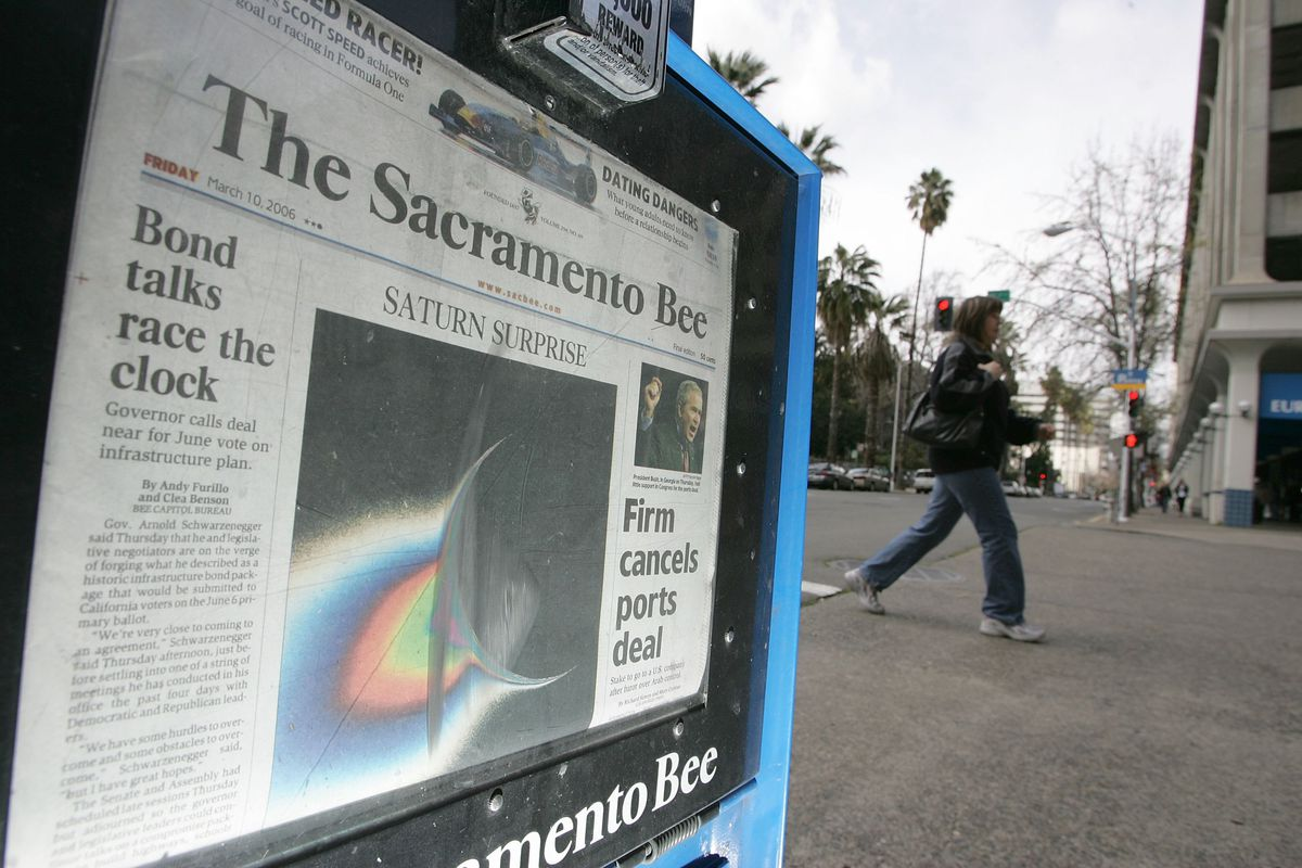 McClatchy Company Leads Bidding For Knight Ridder Papers