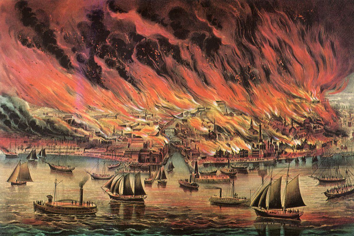 Great Chicago Fire.