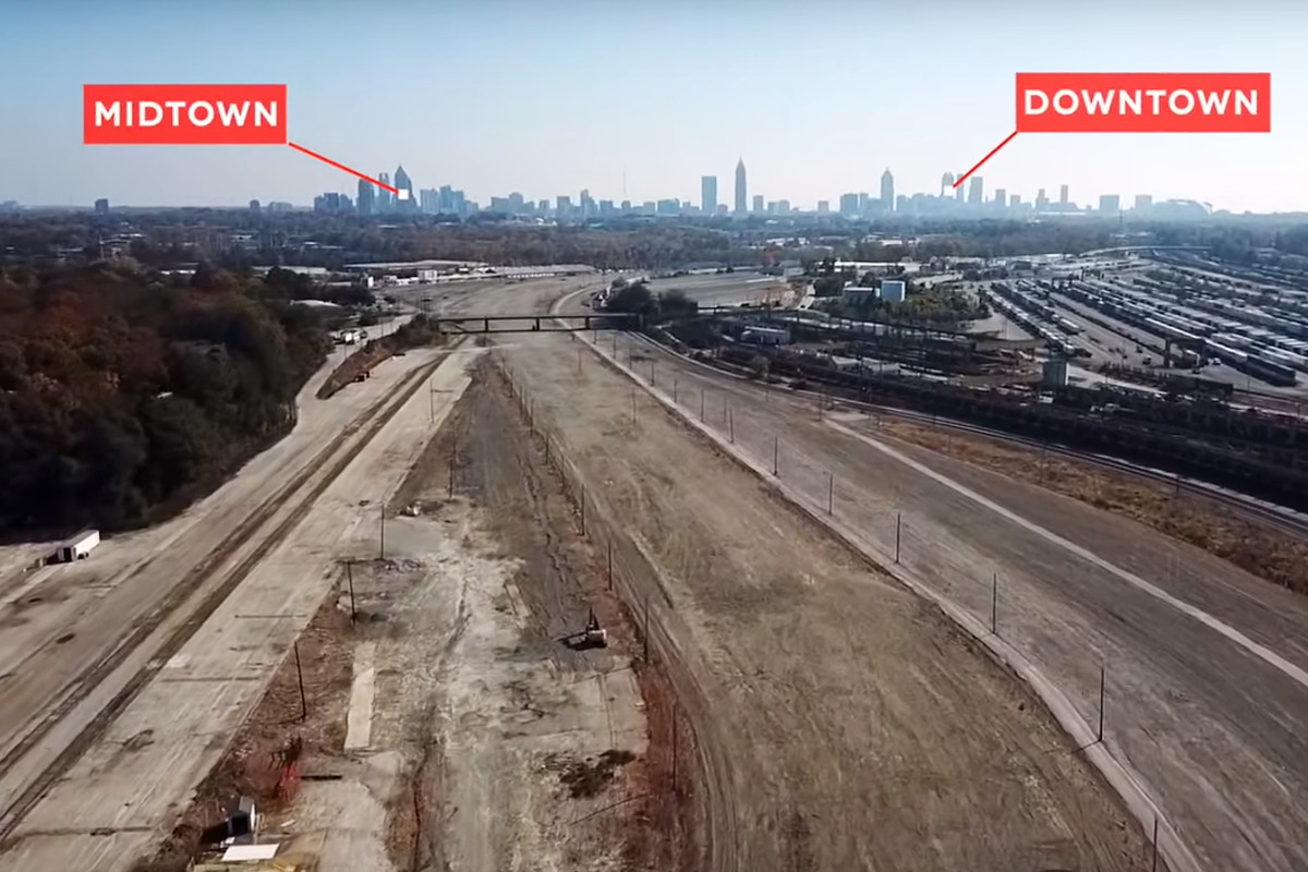 What could become of this massive swath of Atlanta railroad