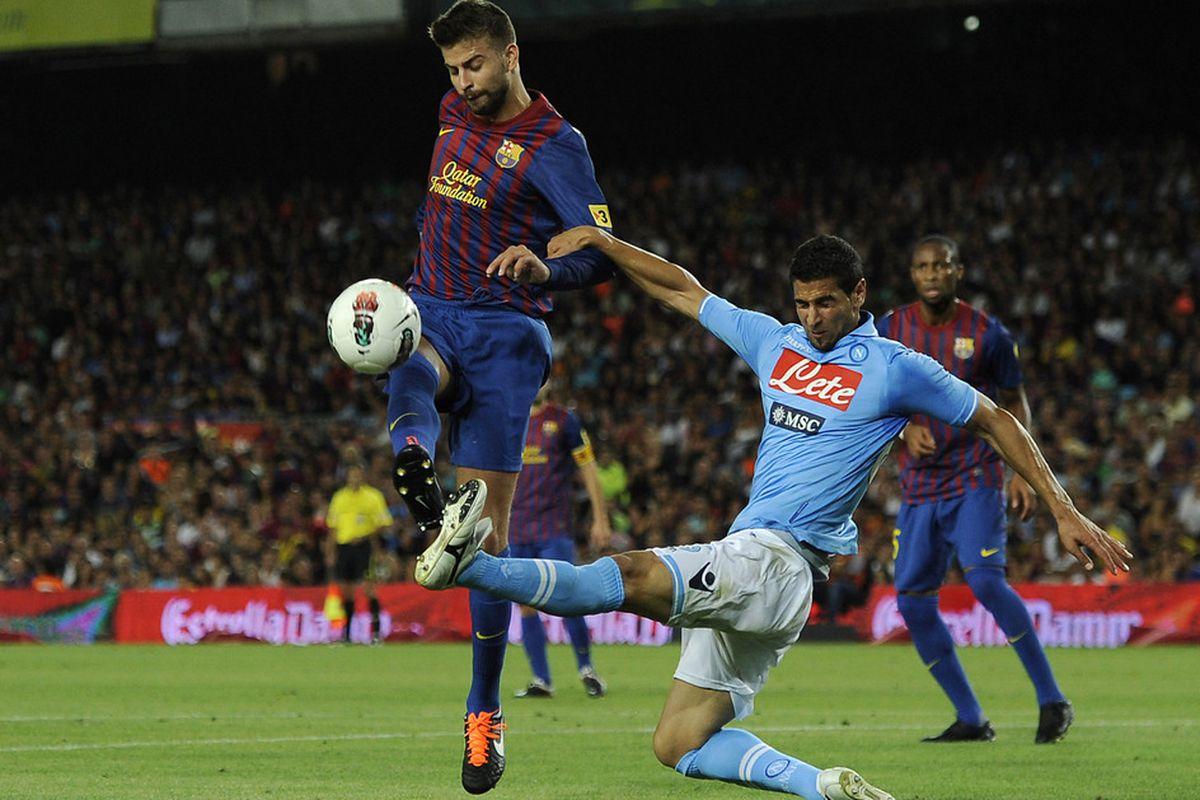 Last season in the Gamper Trophy game Barcelona outclassed an Italian team. Sampdoria is an Italian team...