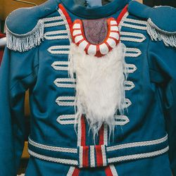 The young Nutcracker costume.