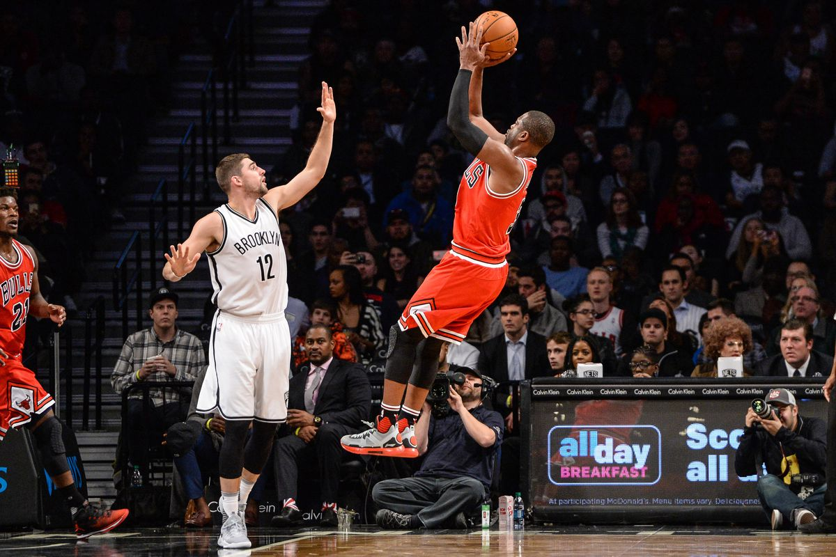 NBA: Chicago Bulls at Brooklyn Nets