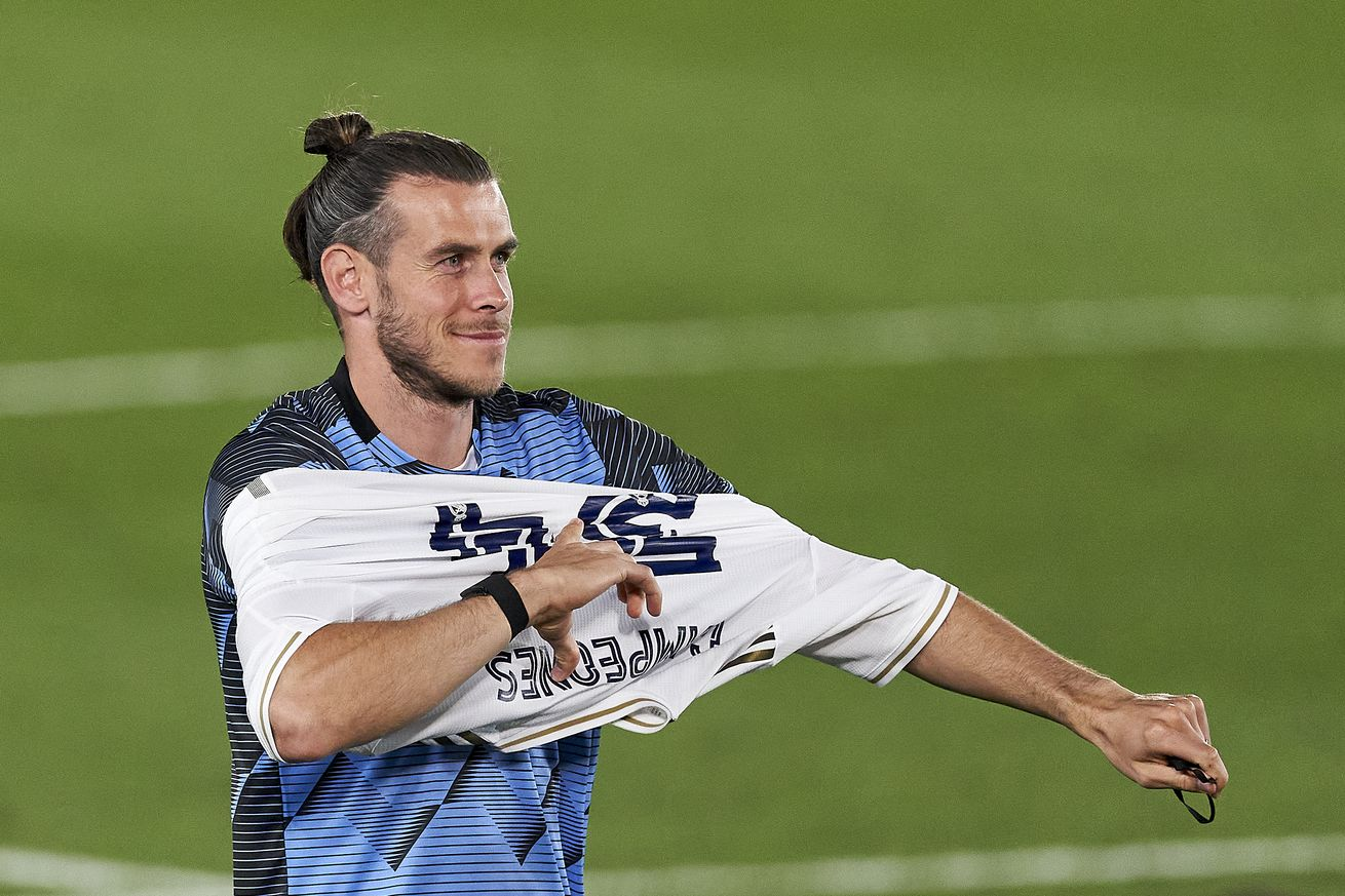 Gareth Bale decides to stay in Real Madrid for the 2021-2022 season -report