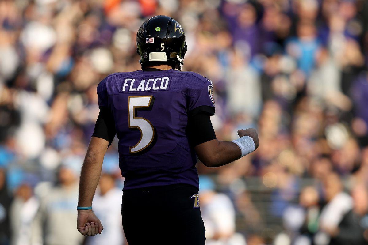 PFF Joe Flacco named Quarterback of the Week Baltimore Beatdown
