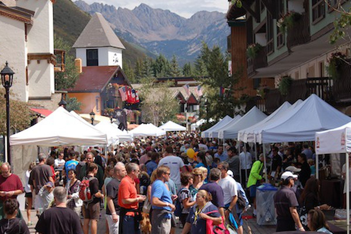 Vail Gourmet on the Gore 2012