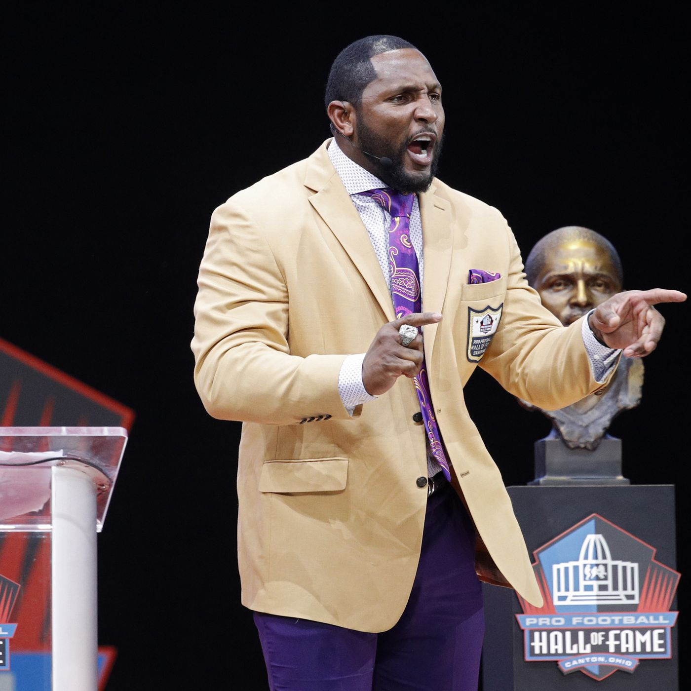 low priced f91e6 52036 Ray Lewis' Hall of Fame speech was long, confusing and ...
