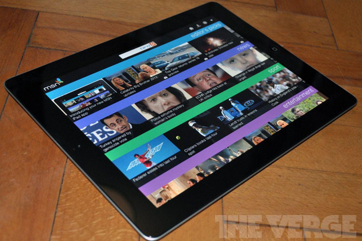 MSN UK for iPad