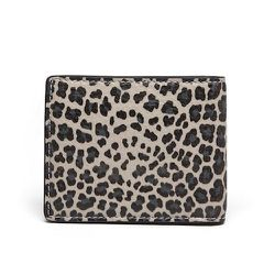 """<strong>Marc by Marc Jacobs</strong> Leopardmania Martin Wallet in Grain Taupe Multi, <a href=""""http://www.marcjacobs.com/marc-by-marc-jacobs/mens/shoes-bags-and-accessories/m0001784/leopardmania-martin-wallet?sort="""">$138</a>"""
