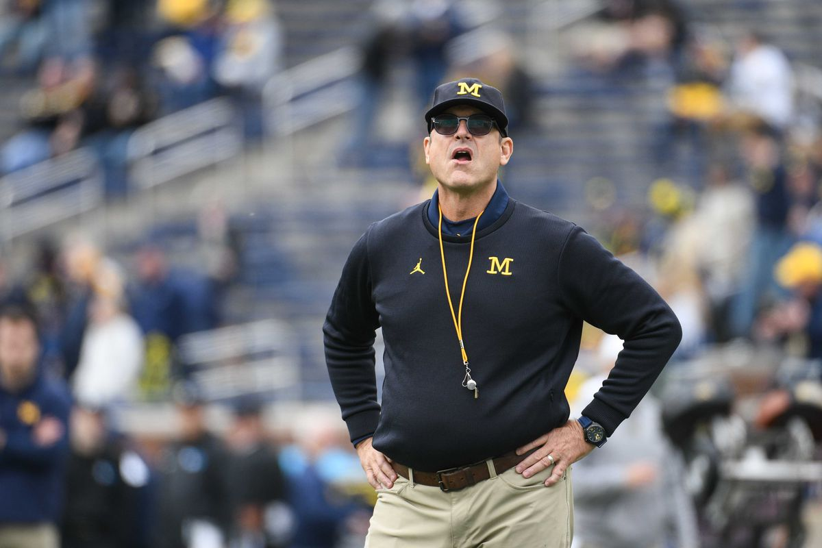 Wisconsin Badgers news: B5Q Blogopean Union: Jim Harbaugh is an idiot