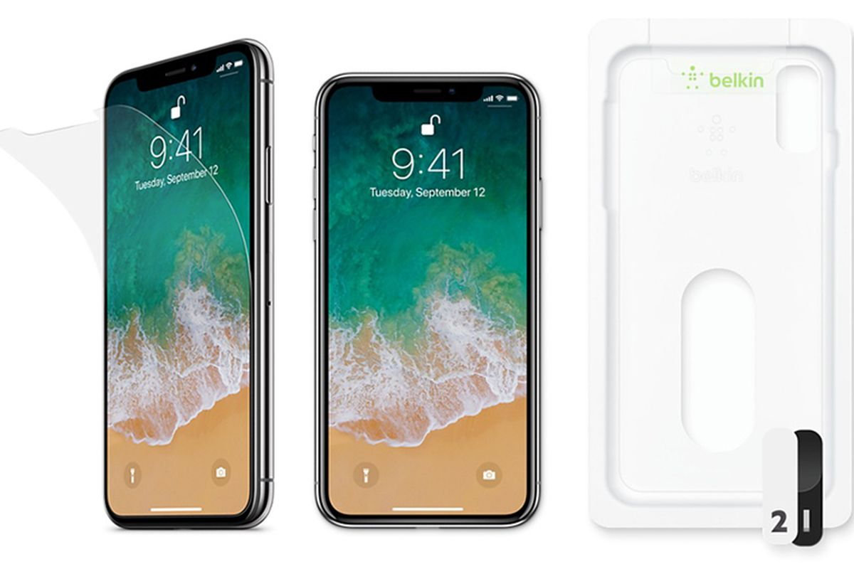 Apple resumes sales of Belkin's $40 iPhone X screen protector after