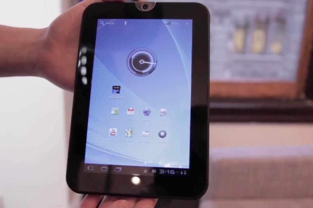 Toshiba Thrive 7-inch hands-on