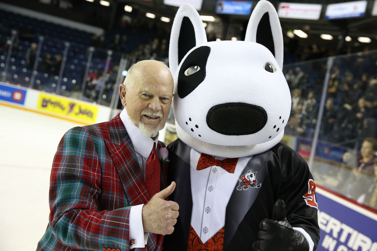 I'd trust one of these guys to coach my OHL team. The other is Don Cherry