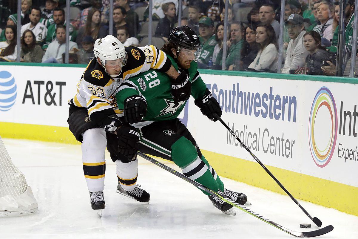 Boston Bruins v Dallas Stars