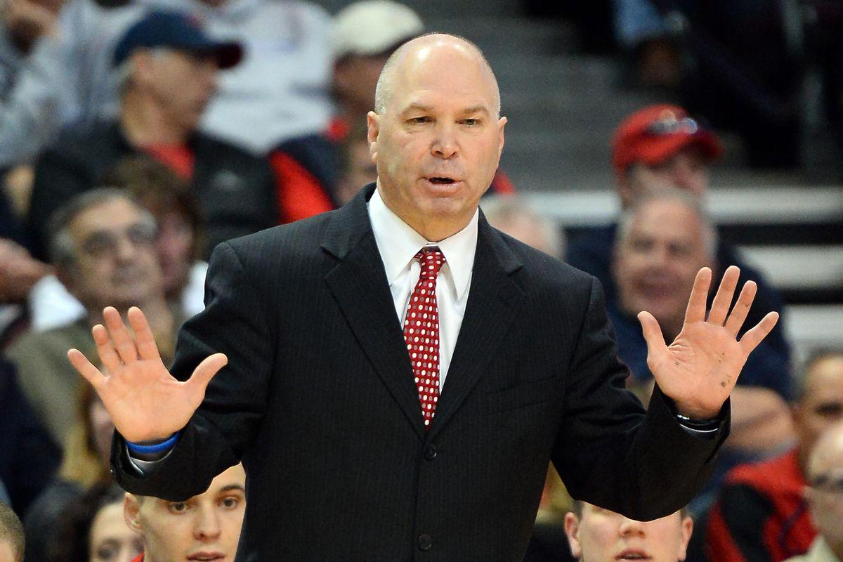 Saint Mary's head coach Randy Bennett.