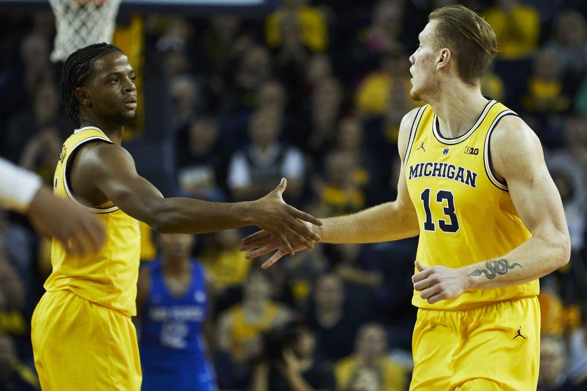NCAA Basketball: Air Force at Michigan