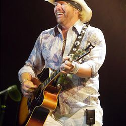Toby Keith performs in concert in West Valley City Saturday.