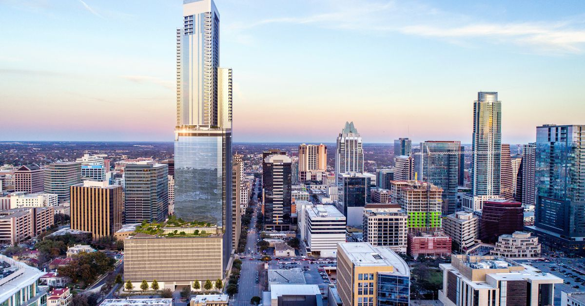 Austin Tallest Tower Might Be Two Stacked Towers Curbed
