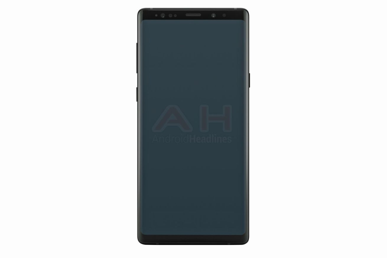 galaxy note 9 leak suggests it looks a lot like the note 8