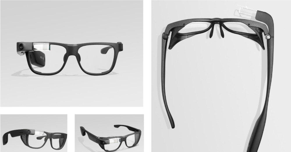 Google announces a new $999 Glass augmented reality headset.