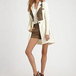 "<a href= ""http://www.saksfifthavenue.com/main/ProductDetail.jsp?PRODUCT%3C%3Eprd_id=845524446482241&FOLDER%3C%3Efolder_id=2534374306588936&bmUID=jtlm0nZ&esre=fshnstrlook19shortspd""> Fashion Star Sophia Shorts by Kara Laricks</a>, $125 at Saks"