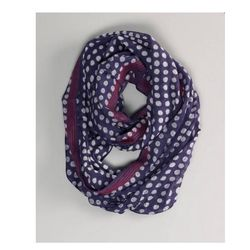 """<a href=""""http://www.ae.com/web/browse/product.jsp?catId=cat5370028&productId=1421_5965&cid=AEO_AFF_k108283""""> American Eagle Outfitters polka dot wrap scarf</a>, $24.95 ae.com"""