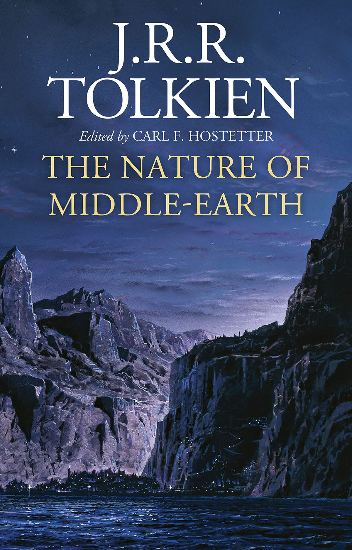 The Nature of Middle-earth by J.R.R. Tolkien  book cover