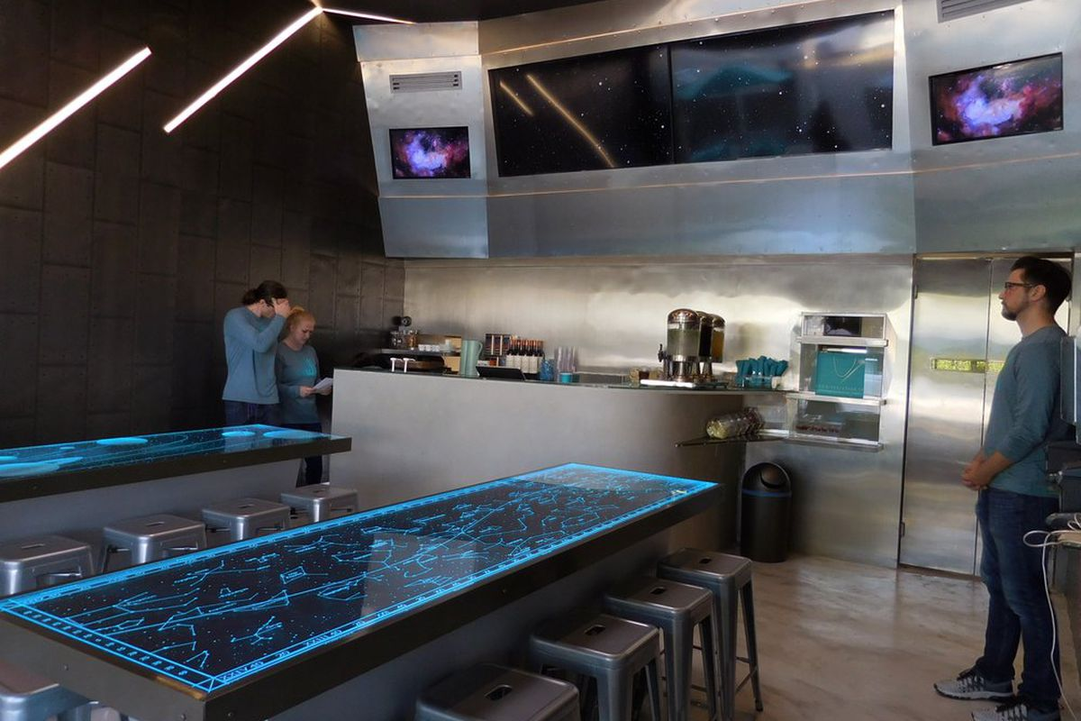 Beverly Hills Restaurant Joss Bites Looks Like A Spaceship
