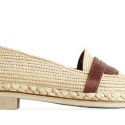"""<b>Robert Clergerie</b> Jamex Raffia loafers, <a href=""""http://shop.creaturesofcomfort.us/robert-clergerie-jamex-raffia-loafer-natural.aspx"""">$425</a> at Creatures of Comfort"""