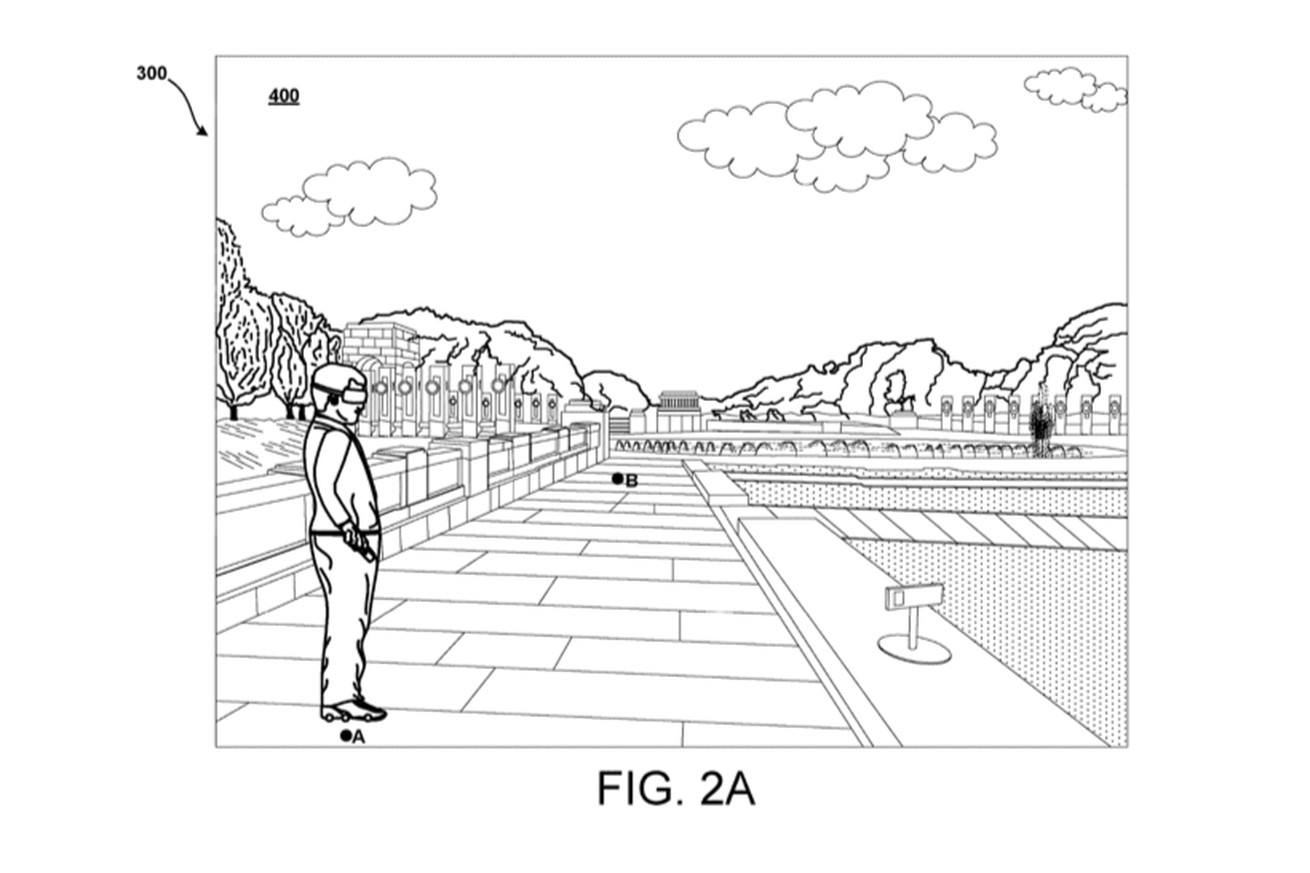 Google is patenting a pair of motorized VR roller skates