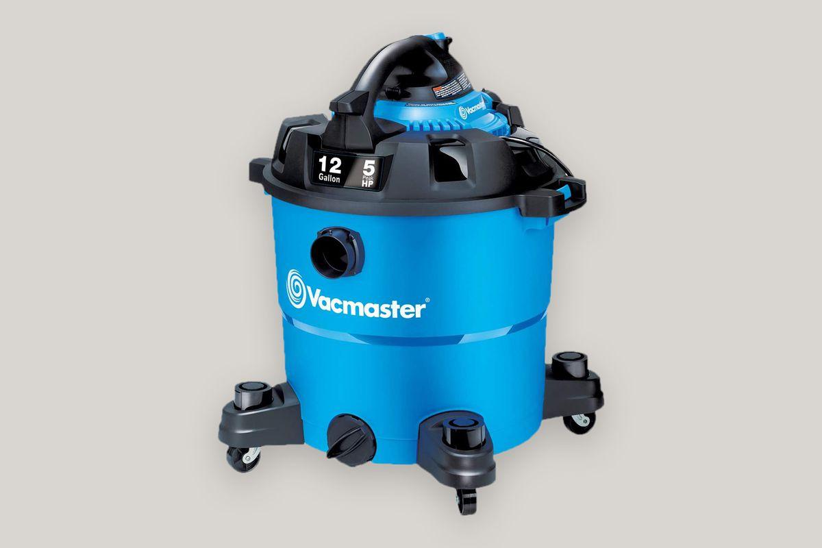 Vacmaster VBV1210, 12-Gallon 5 Peak HP Wet/Dry Shop Vacuum