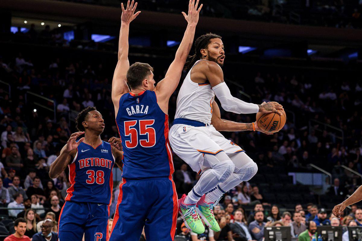 NBA: Preseason-Detroit Pistons at New York Knicks