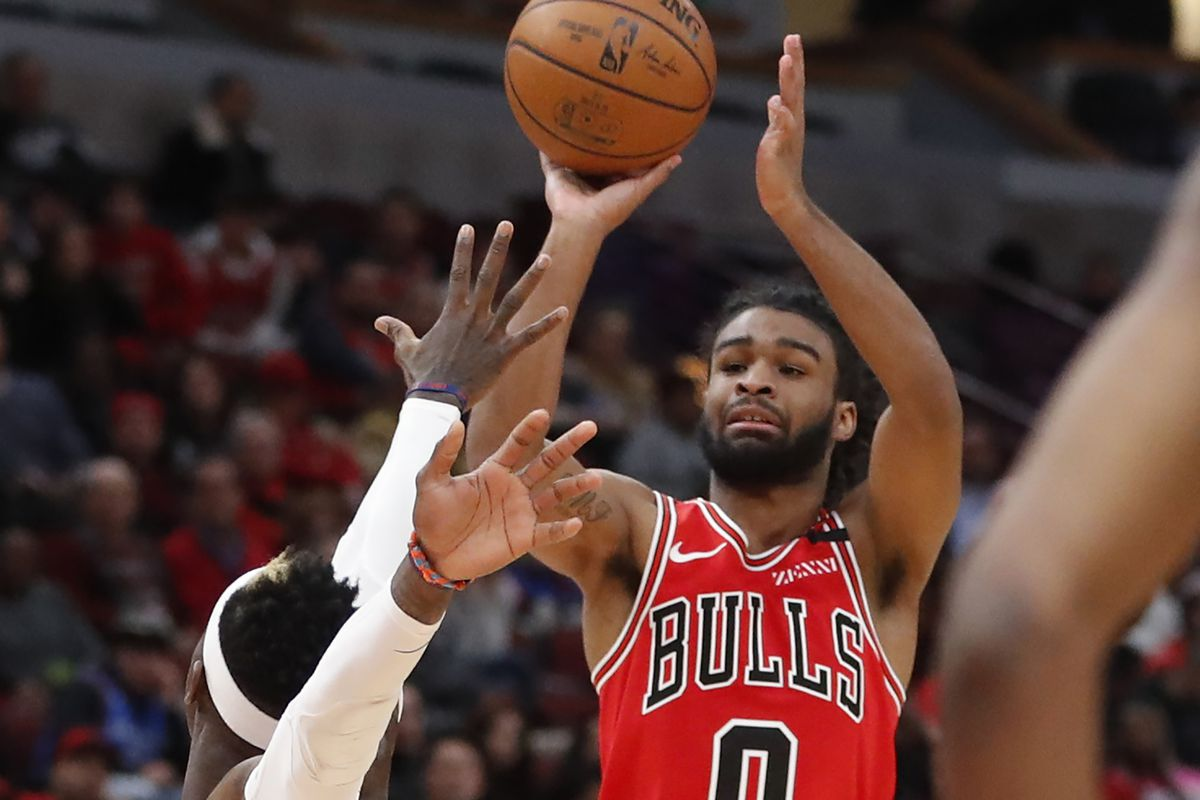 """""""I keep getting this question and I'm just going to answer it one more time: Coby is in a good place,'' Bulls coach Jim Boylen said of rookie Coby White. """"We're going to keep him in a good place."""""""