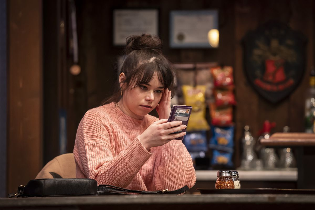 """Angela Morris portrays Maddy in """"Twilight Bowl,"""" written by Rebecca Gilman and directed by Erica Weiss at the Goodman Theatre. 