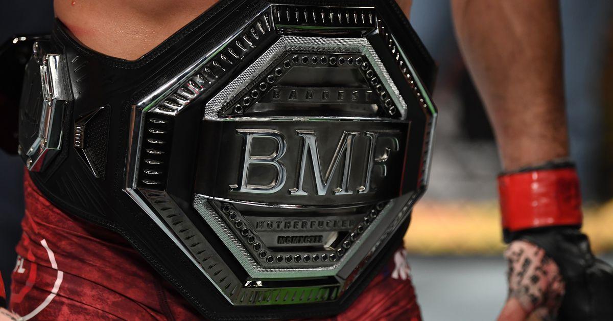 Got an extra $850? Buy 'BMF' belt, win 'DMF' title